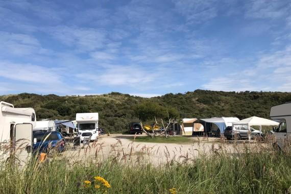 camping de lakens kamperen liguster zon dunespot