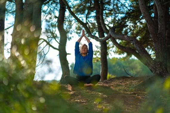 camping de lakens wellness wellnessbus yoga sportles
