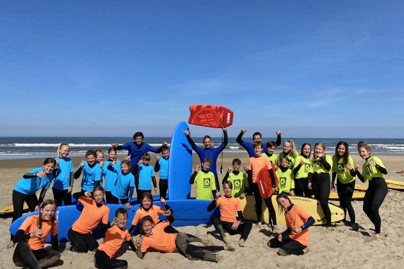 camping de lakens watersport Mifune surf groeples